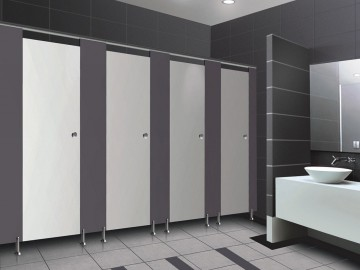 Ph008 stainless steel toilet cubicle partitions toilet for Stainless steel bathroom partitions
