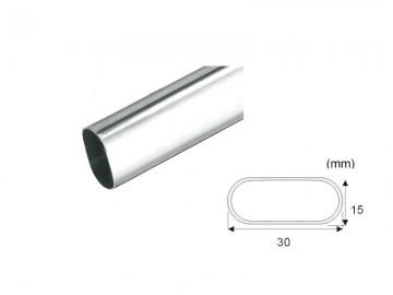 CR005   Oval Closet Rod